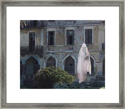 Ghost  Framed Print by Eric Kempson