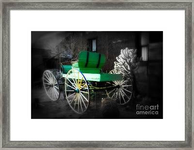 Ghost Rider  Framed Print by Susanne Van Hulst