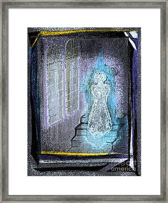 Ghost Stories Haunted Stairs Framed Print by First Star Art
