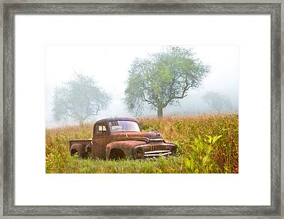Ghosts Of The Past Framed Print by Debra and Dave Vanderlaan