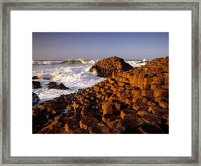 Giants Causeway, County Antrim, Ireland Framed Print by The Irish Image Collection
