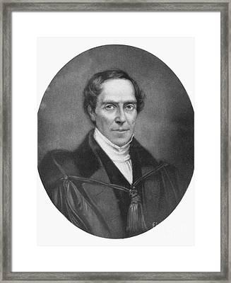 Gideon Algernon Mantell Framed Print by Granger