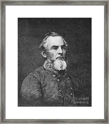 Gideon Johnson Pillow Framed Print by Granger