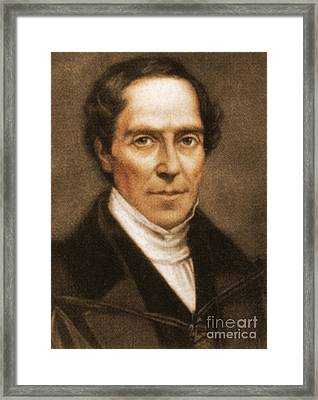 Gideon Mantell, English Geologist & Framed Print by Science Source
