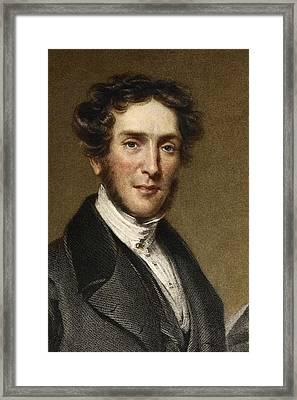 Gideon Mantell, Palaeontologist Framed Print by Paul D Stewart