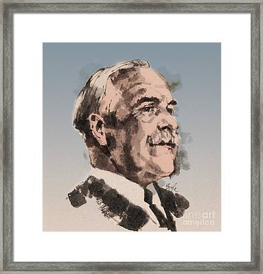 Gilbert Lewis, American Chemist Framed Print by Science Source