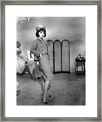 Gina Lollobrigida, Ca. 1965 Framed Print by Everett