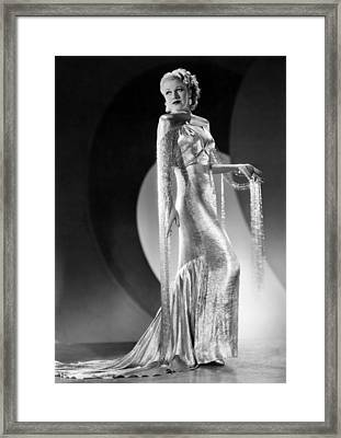 Ginger Rogers, Ca. 1930s Framed Print by Everett
