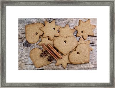 Gingerbread Framed Print by Nailia Schwarz