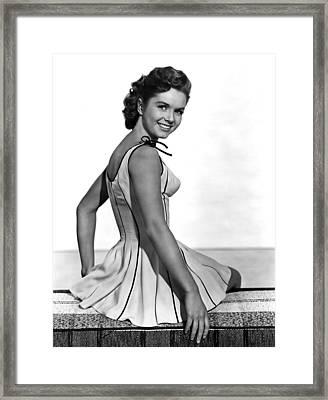 Give A Girl A Break, Debbie Reynolds Framed Print by Everett