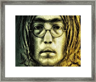Give Peace A Chance Framed Print by Bill Cannon