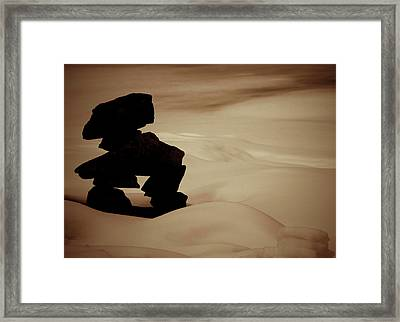 Given To The Luck Framed Print by JC Photography and Art