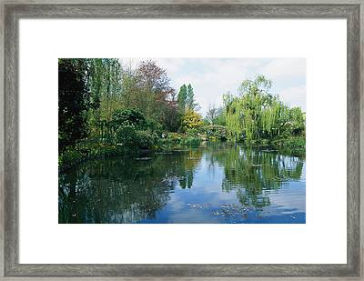 Giverny Gardens, Normandy Region Framed Print by Nicole Duplaix