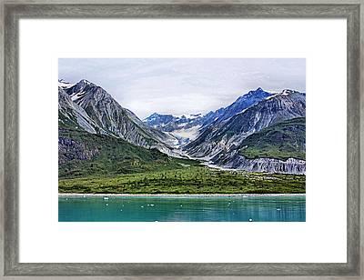 Glacier Bay Beautiful Framed Print by Kristin Elmquist