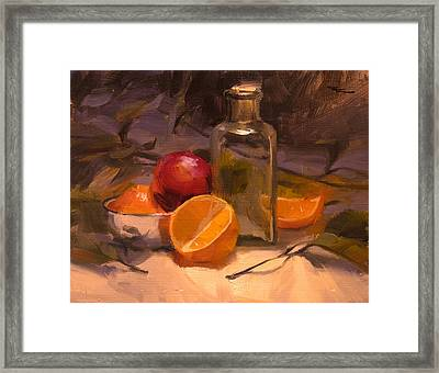 Glass And Steel Framed Print by Richard Robinson