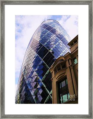 Glass And Stone Framed Print by John Clark