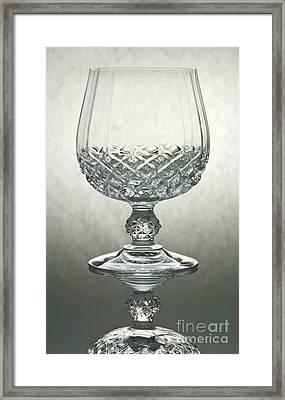 Glass Framed Print by Blink Images