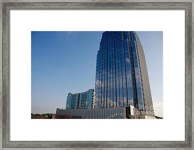 Glass Buildings Nashville Framed Print by Susanne Van Hulst