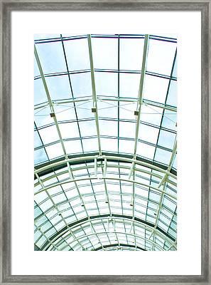 Glass Roof Framed Print by Tom Gowanlock
