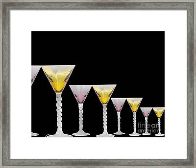 Glasses Framed Print by Cheryl Young