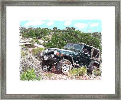 Glb On Assignment Framed Print by Gary Baird