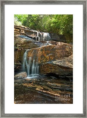 Glen Falls Portrait Framed Print by Matt Tilghman