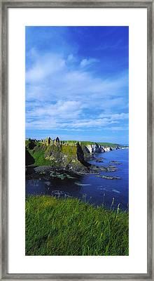 Glenarriff Falls, The Antim Glens, Co Framed Print by The Irish Image Collection
