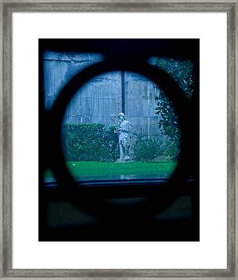 Glimpse Framed Print by Phil Bongiorno