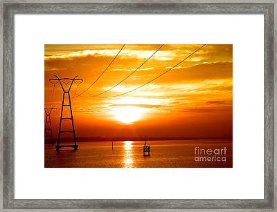 Global Warming Framed Print by Don Youngclaus