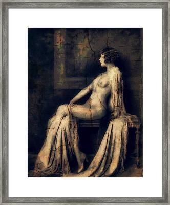 Gloomy Sundays Framed Print by Georgiana Romanovna