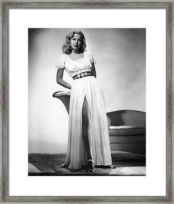 Gloria Grahame, 1946 Framed Print by Everett
