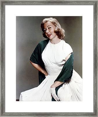 Gloria Grahame, Ca. 1950s Framed Print by Everett
