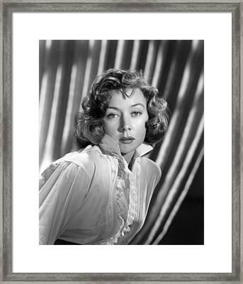 Gloria Grahame, Ca. Early 1950s Framed Print by Everett