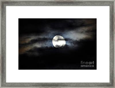 Glorious Gibbous Framed Print by Al Powell Photography USA