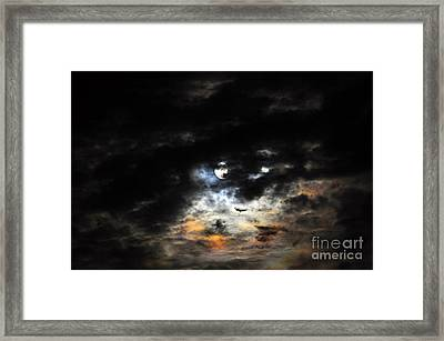 Glorious Gibbous - Wide Version Framed Print by Al Powell Photography USA