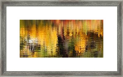 Glorious Reflections Framed Print by Terril Heilman