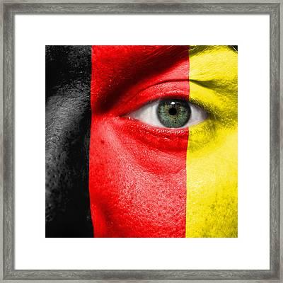 Go Belgium Framed Print by Semmick Photo