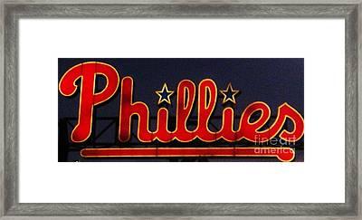 Go Phils Framed Print by Snapshot  Studio