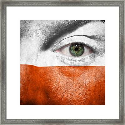 Go Poland Framed Print by Semmick Photo