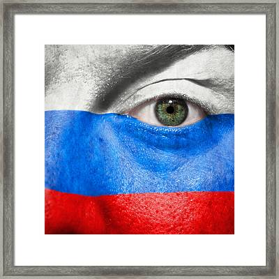 Go Russia Framed Print by Semmick Photo