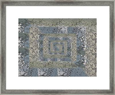 Go With The Floe 4 Framed Print by Tim Allen