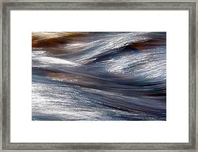 Go With The Flow Framed Print by Bill Morgenstern