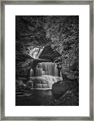 Go With The Flow Framed Print by Evelina Kremsdorf
