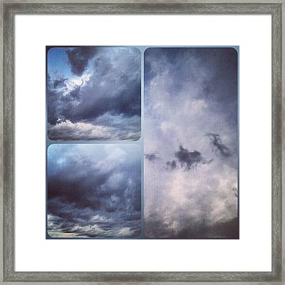God Is The Ultimate Painter... #nature Framed Print by Kel Hill
