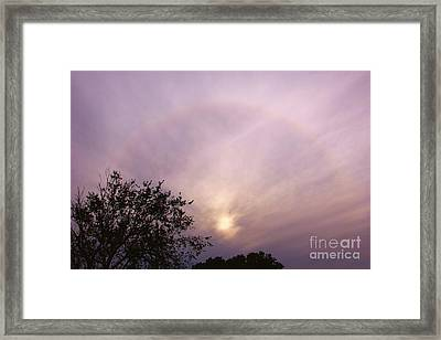 God's Masterpiece Framed Print by Carolyn Wright