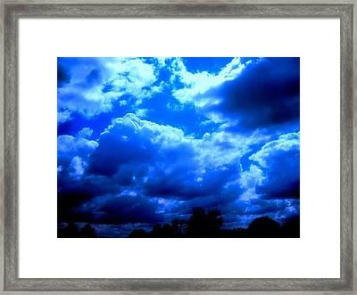 Gods Playground Framed Print by Allen n Lehman