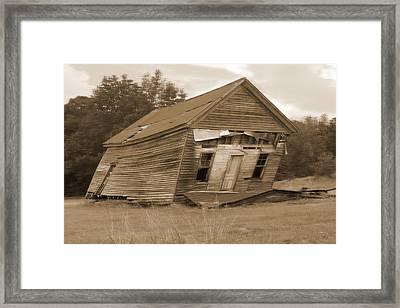 Going Down Framed Print by Mike McGlothlen