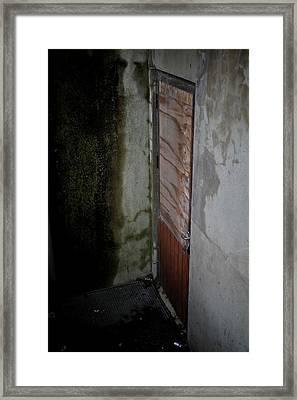 Going Down Framed Print by Odd Jeppesen