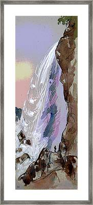Going Fishing Framed Print by Charles Shoup