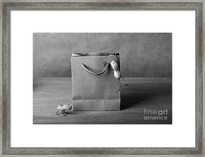 Going Shopping 04 Framed Print by Nailia Schwarz